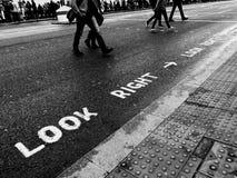 街市伦敦 免版税库存照片