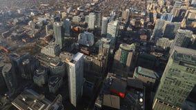 街市伯灵屯,加拿大4K Timelapse  股票录像
