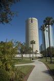 街市佛罗里达公园坦帕 免版税库存图片