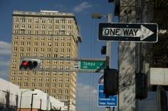 街市佛罗里达坦帕 库存照片