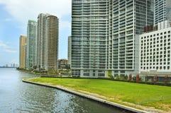 街市佛罗里达迈阿密美国 免版税库存图片
