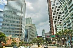 街市佛罗里达迈阿密美国 库存照片