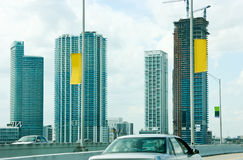 街市佛罗里达迈阿密 库存照片