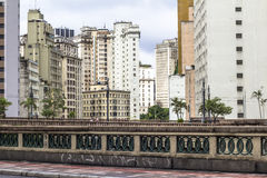 街市保罗圣地 免版税图库摄影