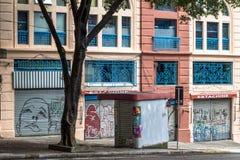 街市保罗圣地 免版税库存照片