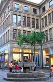 街市克雷菲尔德,德国 免版税库存图片