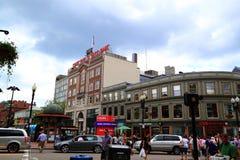街市剑桥马萨诸塞 免版税库存照片