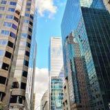 街市反映 免版税库存图片