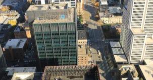 街市哥伦布,俄亥俄4K鸟瞰图  股票视频