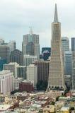 街市商业区,旧金山 免版税库存照片