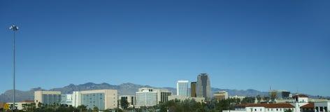 街市图森的全景, AZ 免版税库存图片