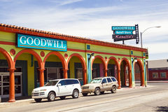 街市图森,亚利桑那 库存图片