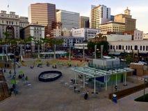 街市圣地亚哥加利福尼亚 免版税库存照片