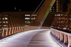 街市圣地亚哥桥梁 免版税库存图片