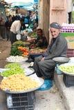 街市在伊拉克 免版税库存照片