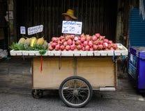 街市在曼谷,泰国 免版税图库摄影