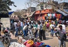 街市在阿格拉,印度 免版税图库摄影