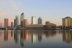 街市坦帕,佛罗里达 免版税库存照片