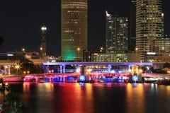 街市坦帕,佛罗里达 免版税库存图片