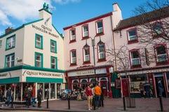 街市基拉尼,爱尔兰 免版税库存图片