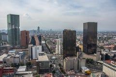 街市墨西哥城,墨西哥看法  免版税库存图片