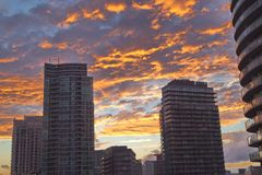 街市多伦多的看法  库存照片