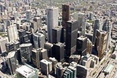 街市多伦多 免版税库存照片
