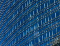 街市天空刮板 免版税库存照片