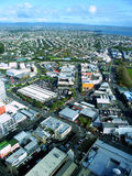 街市奥克兰新西兰 库存图片
