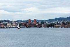 街市奥斯陆 免版税库存照片