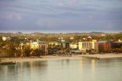 街市拿骚,巴哈马 免版税库存照片