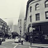 街市旧金山,美国 免版税库存照片