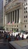 街市曼哈顿纽约 免版税库存图片