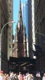 街市曼哈顿纽约 库存照片