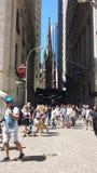 街市曼哈顿纽约 免版税图库摄影