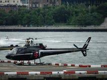 街市曼哈顿直升机场11 库存照片