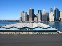 街市曼哈顿 免版税库存照片
