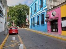 街市比利亚埃尔莫萨 免版税库存图片