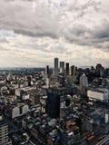 街市波哥大的全景  图库摄影