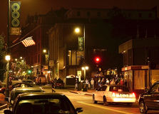 街市波特兰缅因 图库摄影