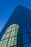 街市温斯顿萨兰姆大厦 库存照片
