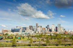 街市的丹佛,科罗拉多 免版税库存图片