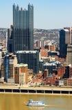 街市的匹兹堡 库存照片