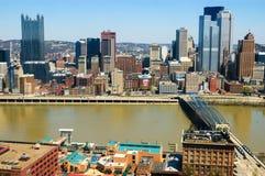 街市的匹兹堡 免版税库存照片