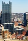 街市的匹兹堡 免版税图库摄影