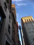街市的大厦 免版税库存照片