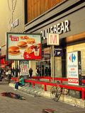 街市的布加勒斯特 免版税库存照片