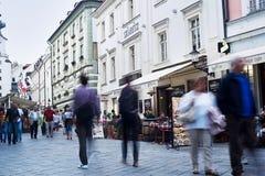 街市的布拉索夫 免版税库存照片