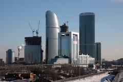 街市的建筑 免版税库存图片