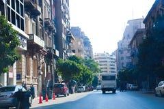 街市的开罗-埃及总督期间 库存照片
